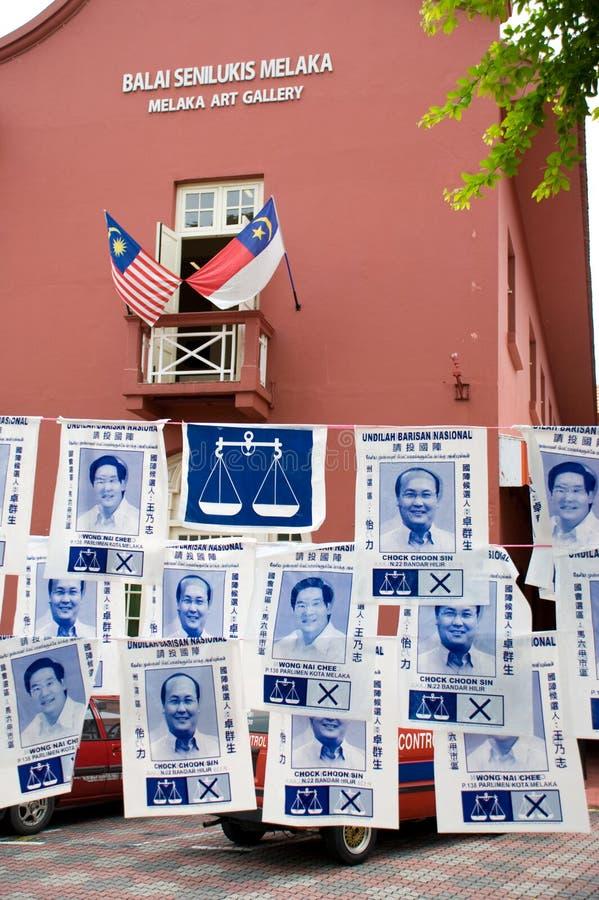 Eleição geral de Malaysia fotos de stock
