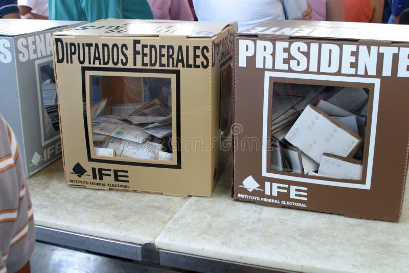 Eleições mexicanas fotos de stock