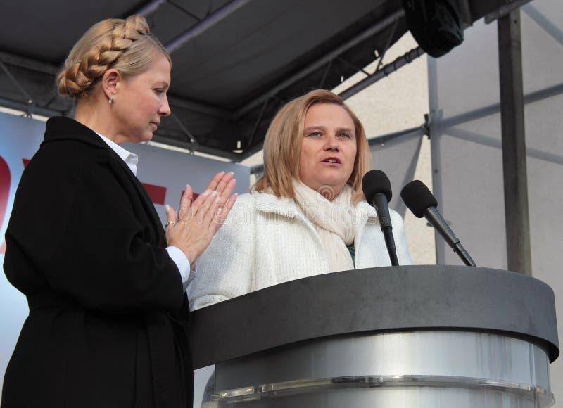 Eleições parlamentares em Ucrânia fotografia de stock royalty free