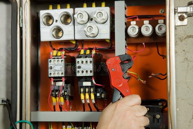 Elektricien royalty-vrije stock foto