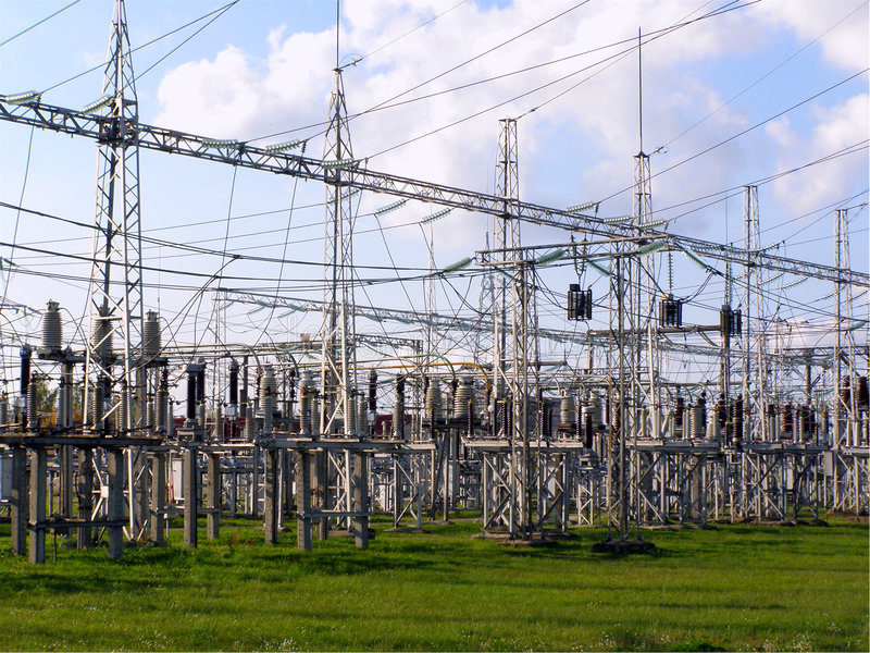 Elektriciteit royalty-vrije stock foto's