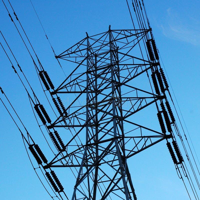 Download Elektriciteit stock afbeelding. Afbeelding bestaande uit hoog - 45181