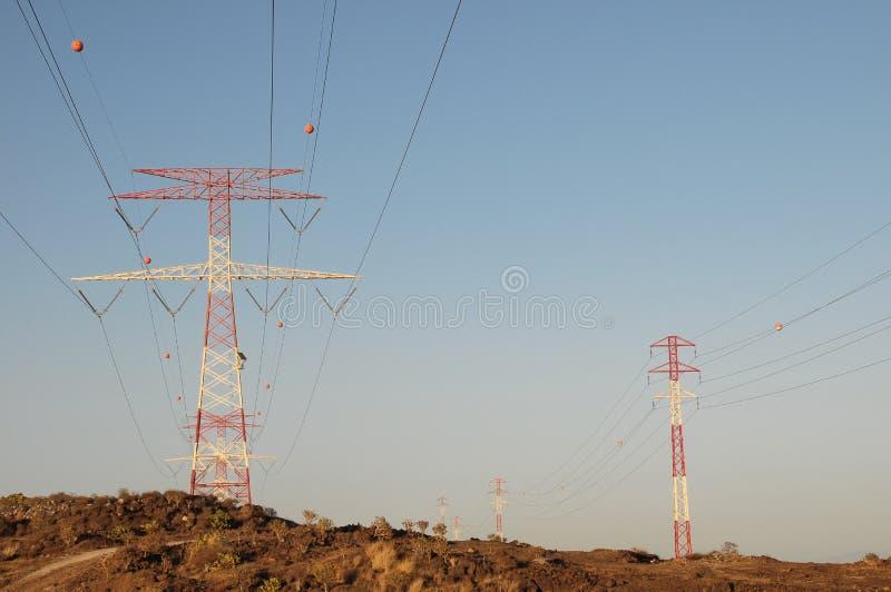 Elektriciteit Pool stock foto