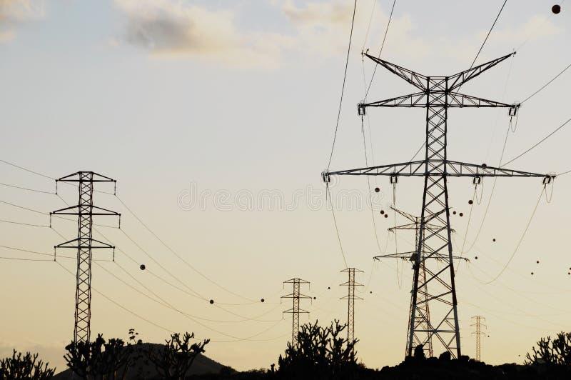 Elektriciteit Pool stock fotografie