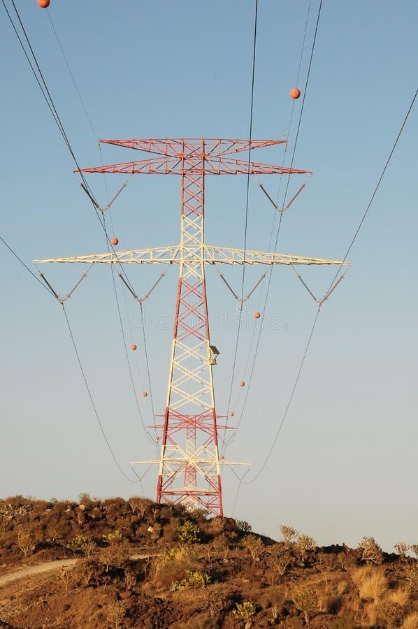 Elektriciteit Pool royalty-vrije stock foto's