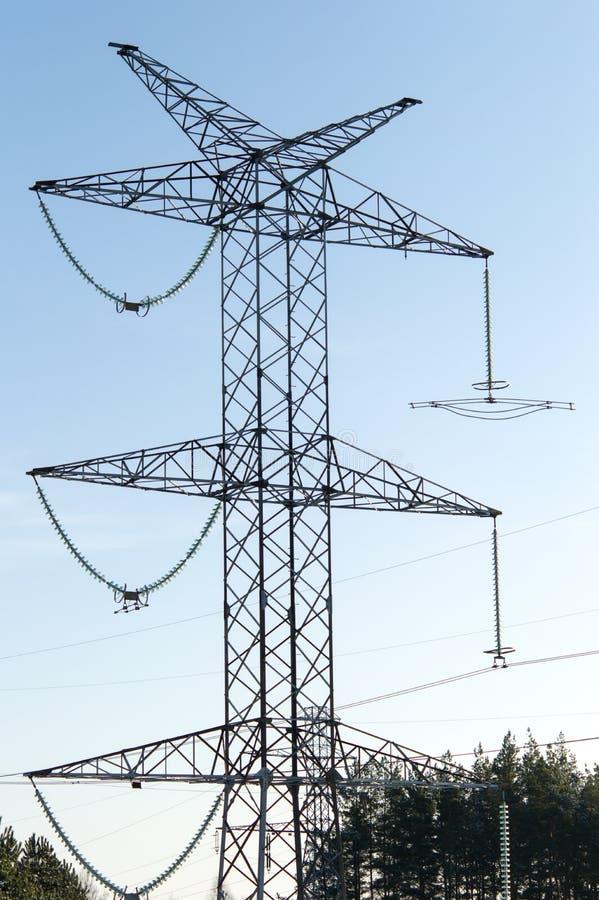 Elektriciteitspool stock foto