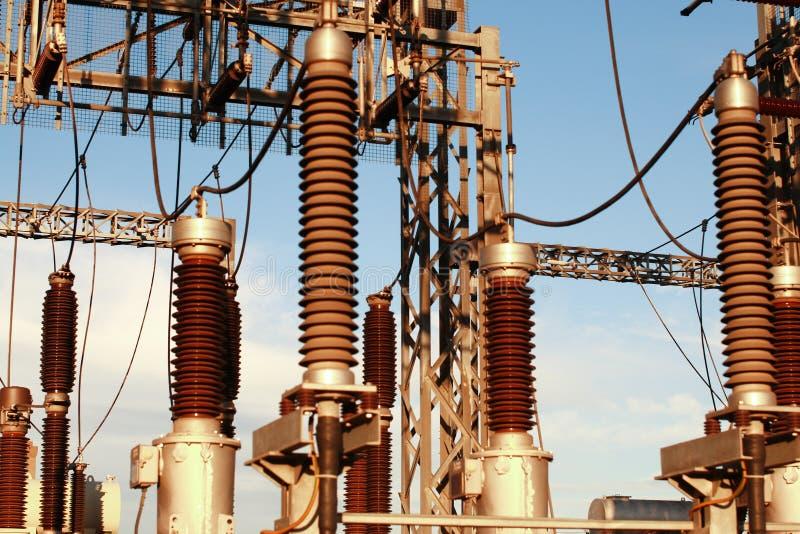 Elektriciteitstoren royalty-vrije stock fotografie