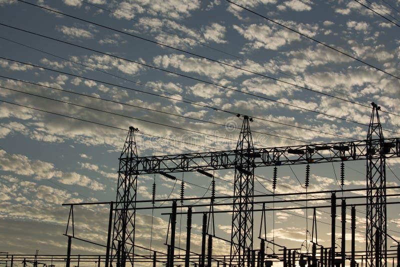elektricitet arkivbild