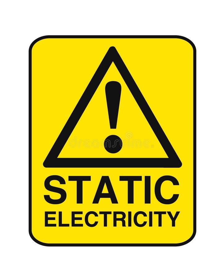 Elektricitet för kvalitetsabstrakt begrepp för hög spänning toppen affisch för affär royaltyfri illustrationer