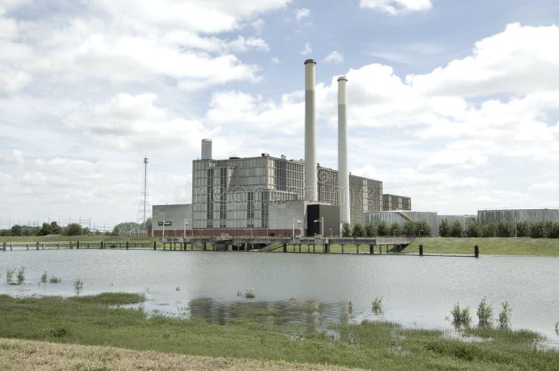 elektricitetsijsselcentralezwolle royaltyfri foto