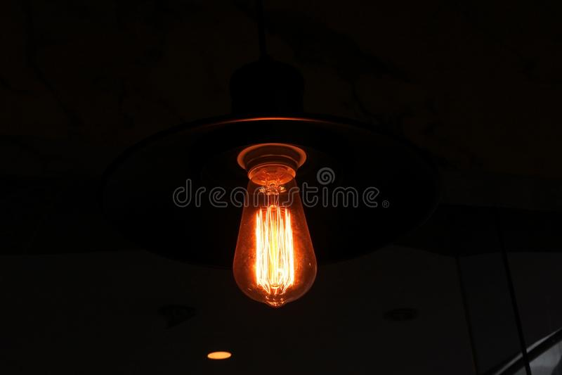 Elektricitetsligth royaltyfria bilder