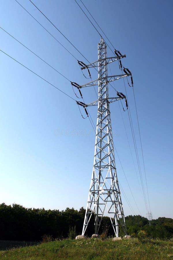 elektricitetspoler arkivbilder