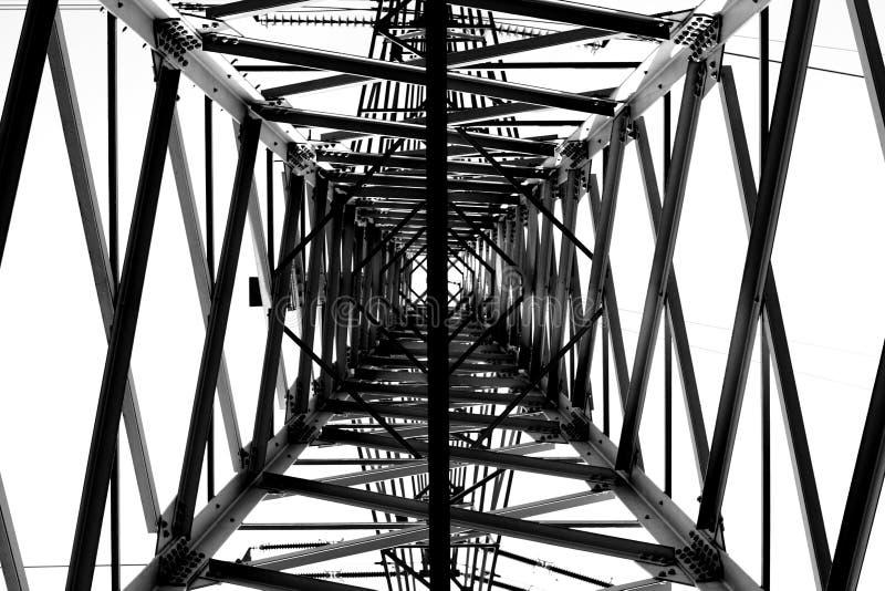 Elektricitetsraster royaltyfri fotografi