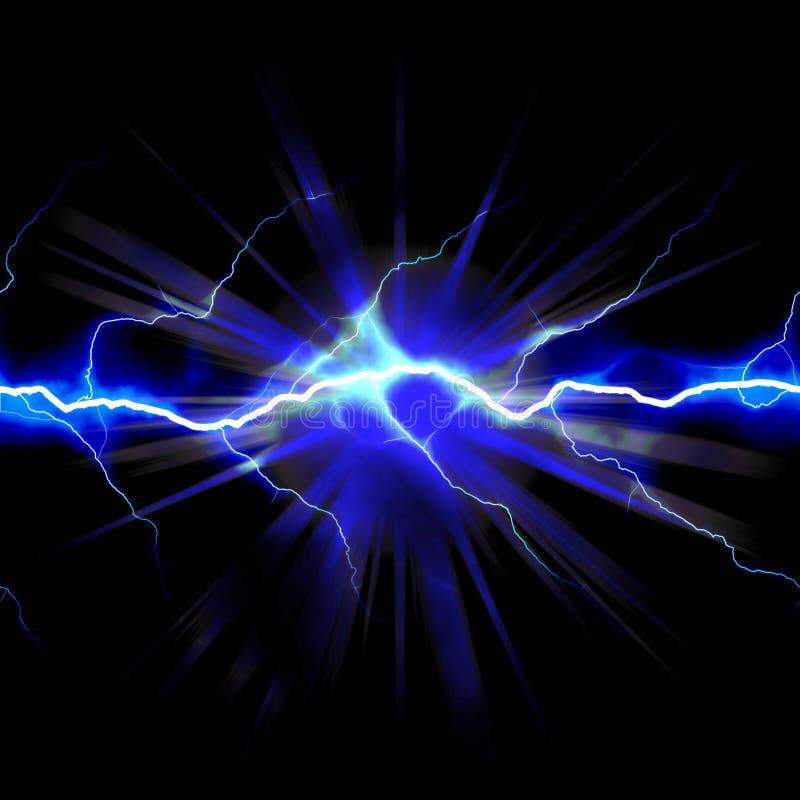 elektricitetsstöt stock illustrationer