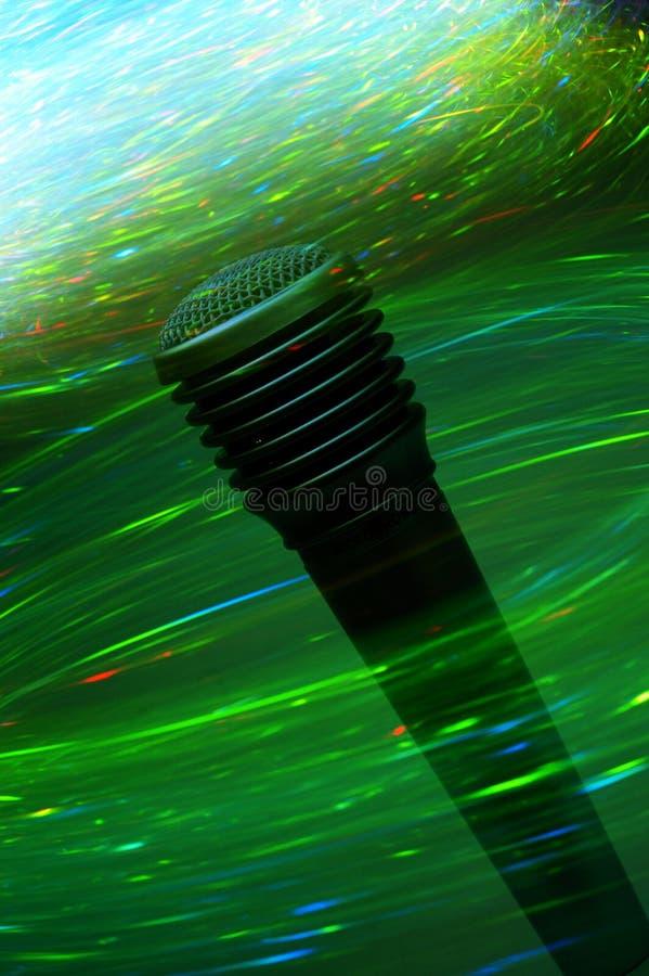 elektrifiera mikrofon royaltyfri bild