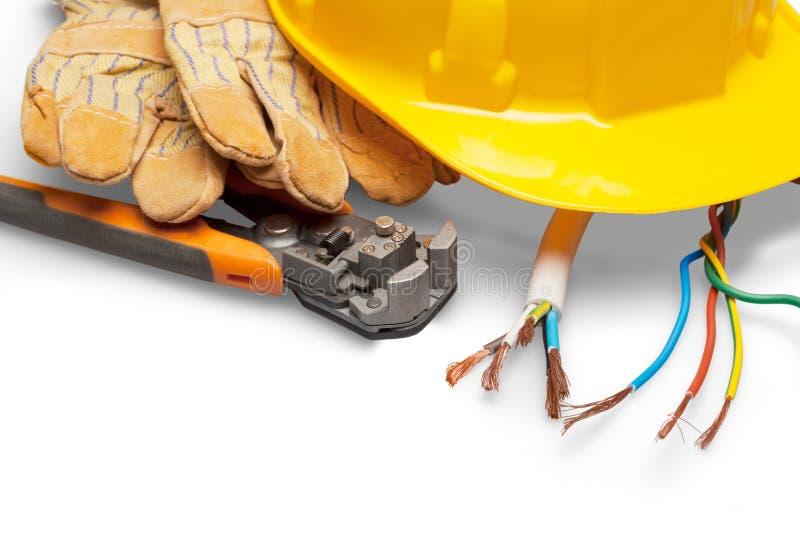 elektriker lizenzfreie stockbilder