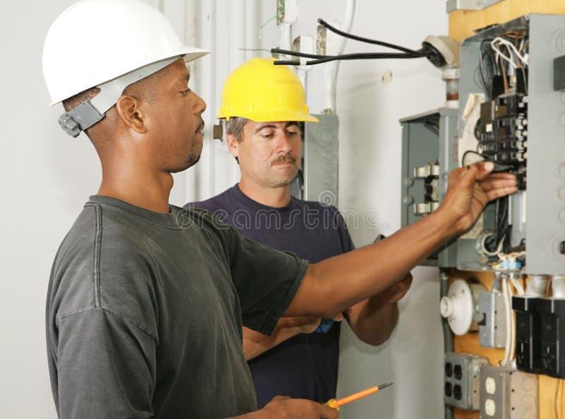 Elektriker-Verschiedenartigkeit lizenzfreie stockbilder
