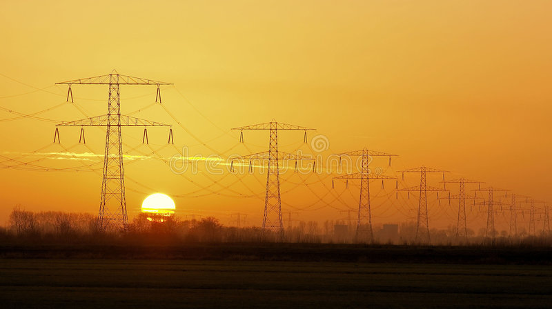 Elektrisch stockfoto