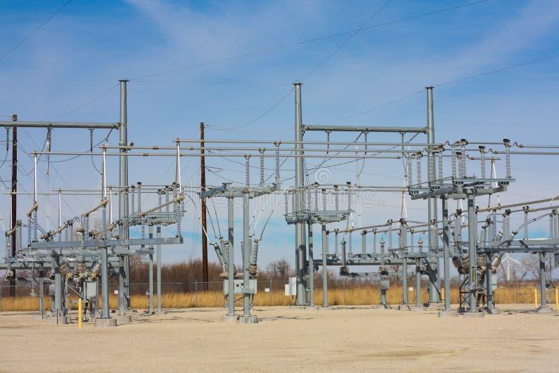 Elektrisch Hulpkantoor in het Midwesten stock afbeeldingen