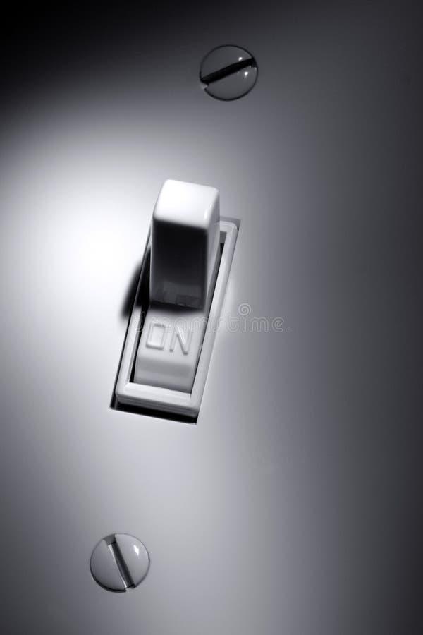 Elektrisch schakel in royalty-vrije stock foto