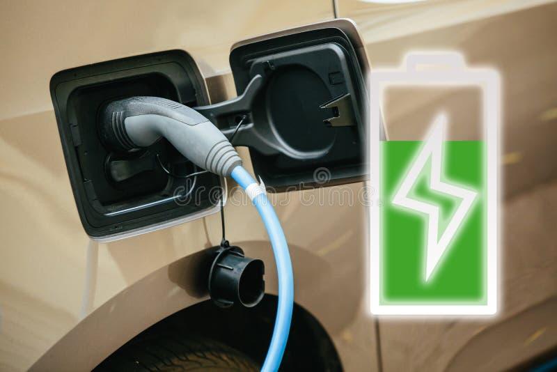 Elektrisch voertuig stock foto's