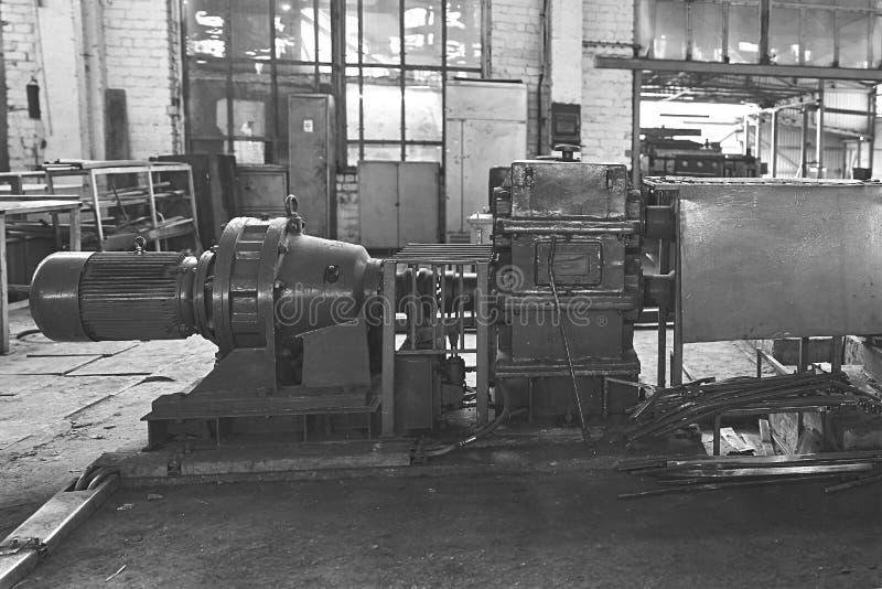 Elektrische actuator voor industriële molen stock foto's