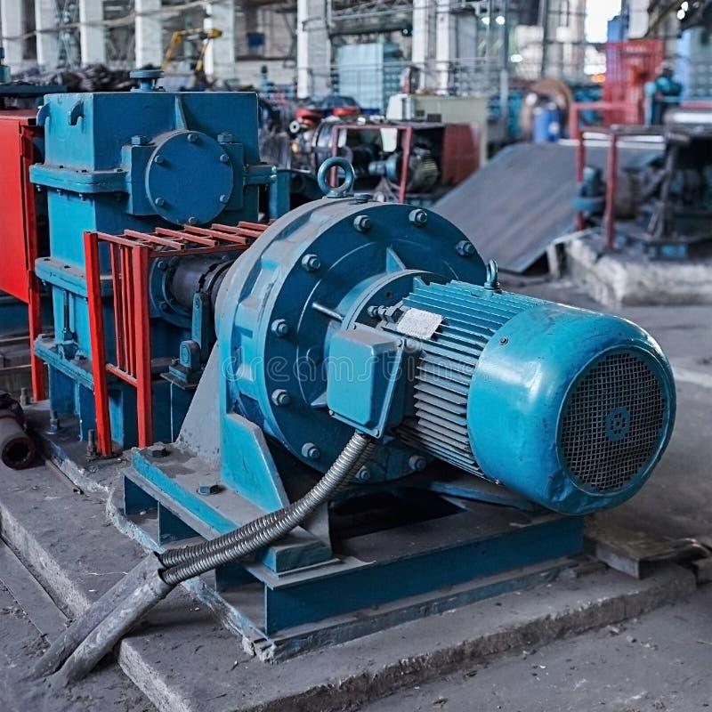 Elektrische actuator voor industriële molen royalty-vrije stock afbeelding