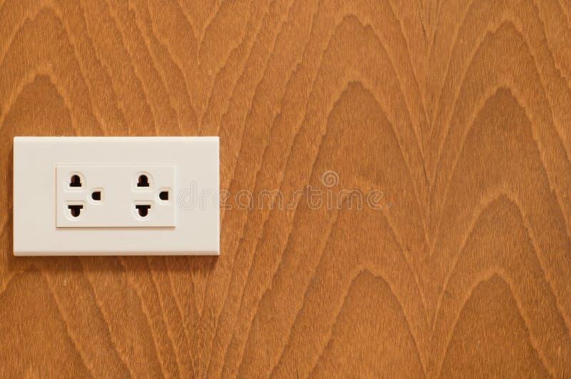 Elektrische afzet stock afbeeldingen