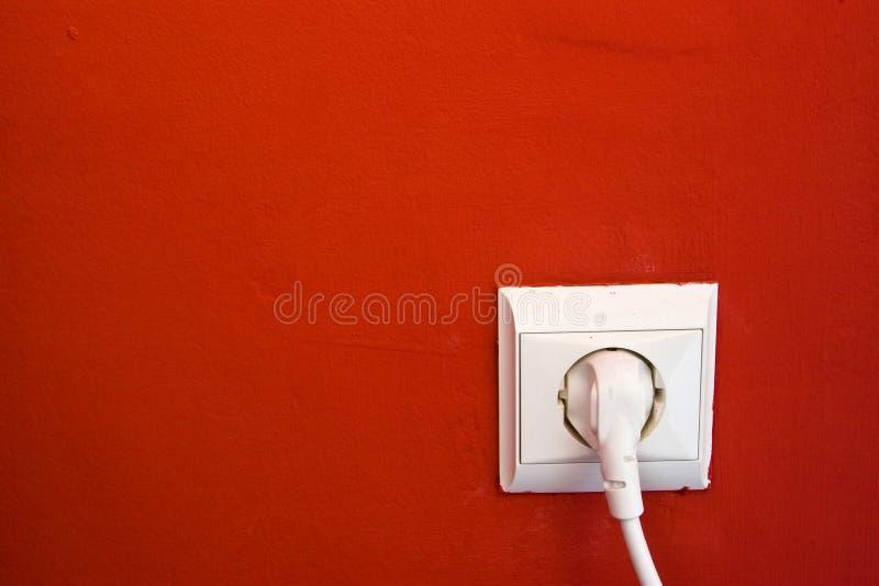 Elektrische afzet royalty-vrije stock foto