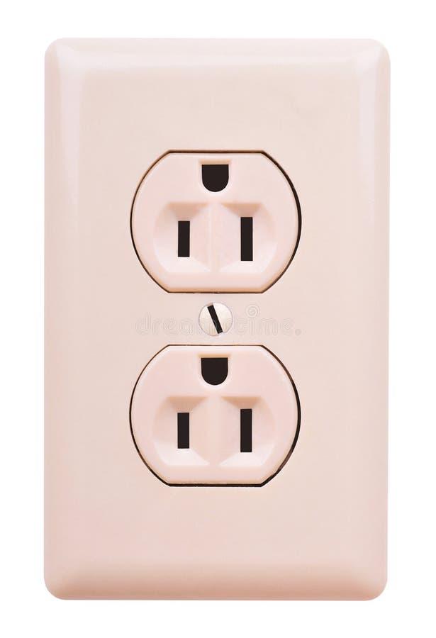 Elektrische afzet stock afbeelding