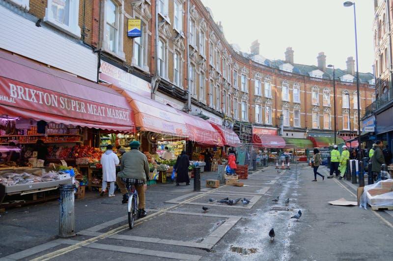 Elektrische Allee, Brixton lizenzfreies stockbild