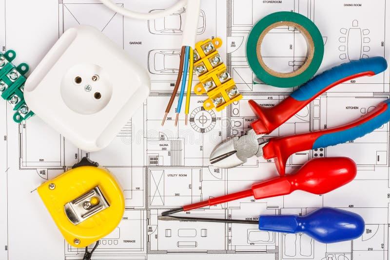 Elektrische Ausrüstung stockfoto