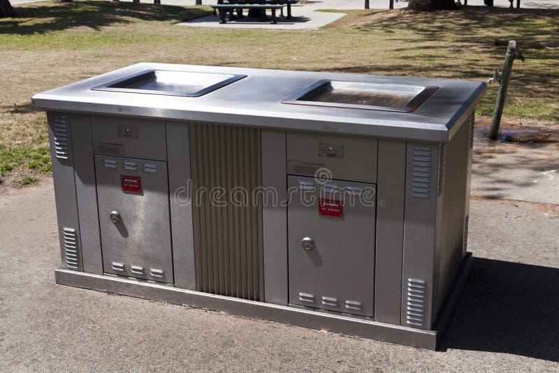 Elektrische Barbecue stock foto's