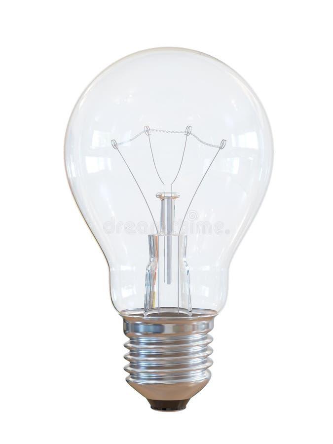 Elektrische Birnenlampe des Haushalts lizenzfreie abbildung
