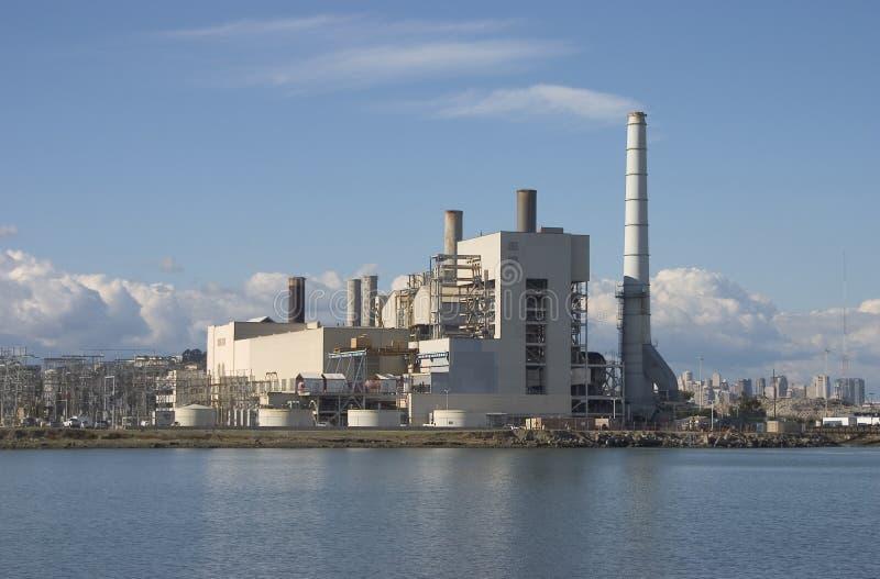 Elektrische centrale stock foto's
