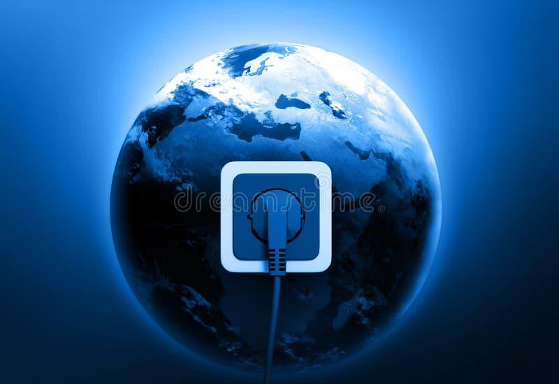 Elektrische contactdoos vector illustratie