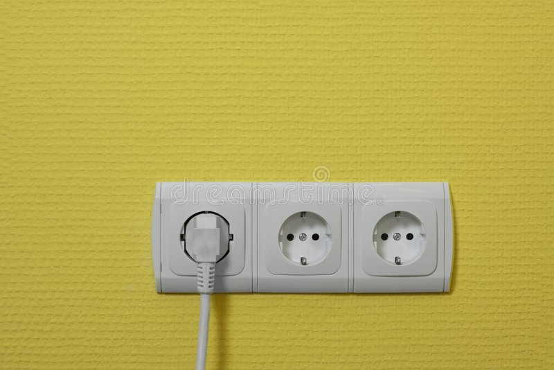 Elektrische Einfaßungen lizenzfreies stockbild