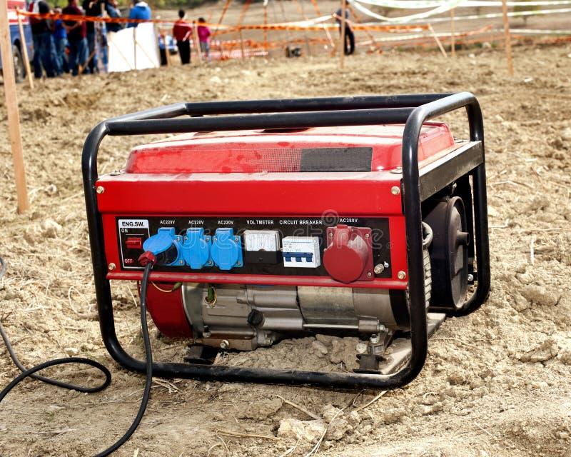 Elektrische generator stock fotografie