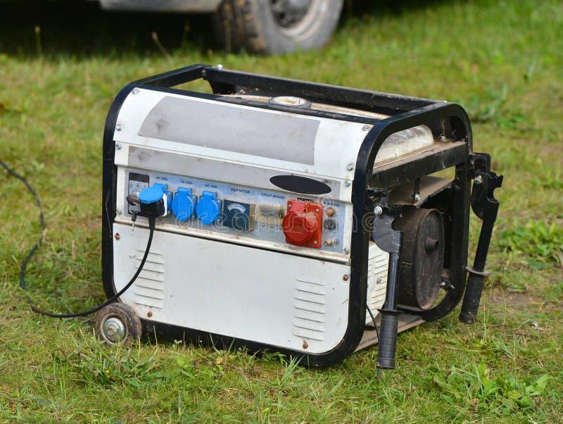 Elektrische generator royalty-vrije stock foto
