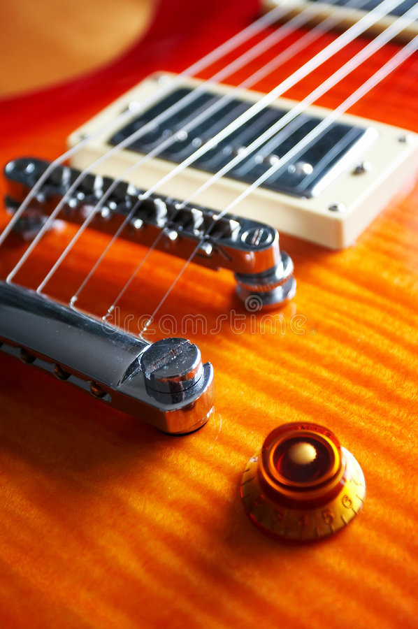 Elektrische gitaar stock foto