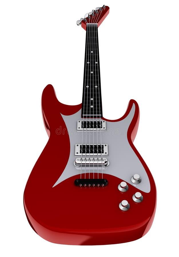 Elektrische gitaar stock illustratie