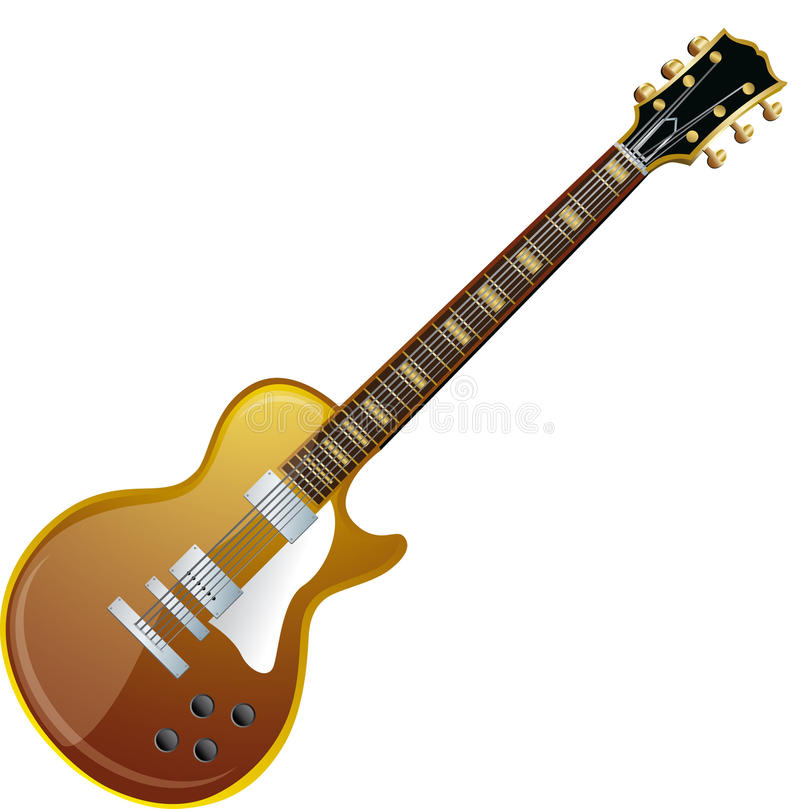 Elektrische Gitarre vektor abbildung