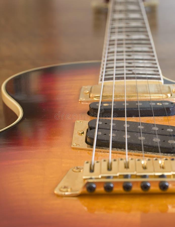 Elektrische Gitarren-Aufnahmen (1269) lizenzfreie stockfotografie