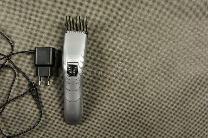 Elektrische haarclippers royalty-vrije stock afbeeldingen