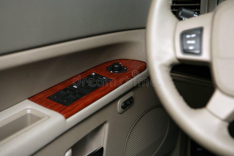 Elektrische het vensterschakelaar van de auto royalty-vrije stock foto's