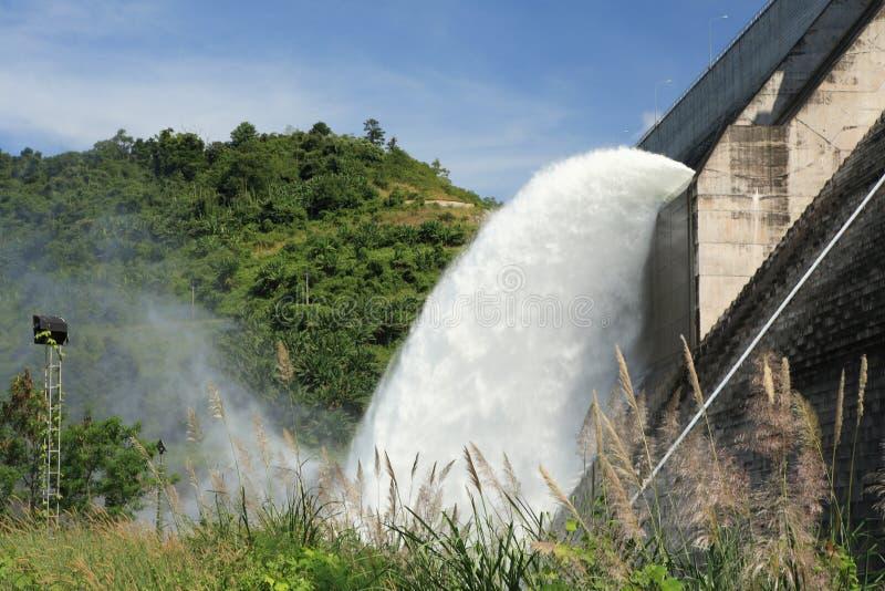 Elektrische hydroverdammung lizenzfreie stockbilder