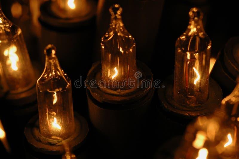 Download Elektrische kaarsen stock afbeelding. Afbeelding bestaande uit rust - 47807