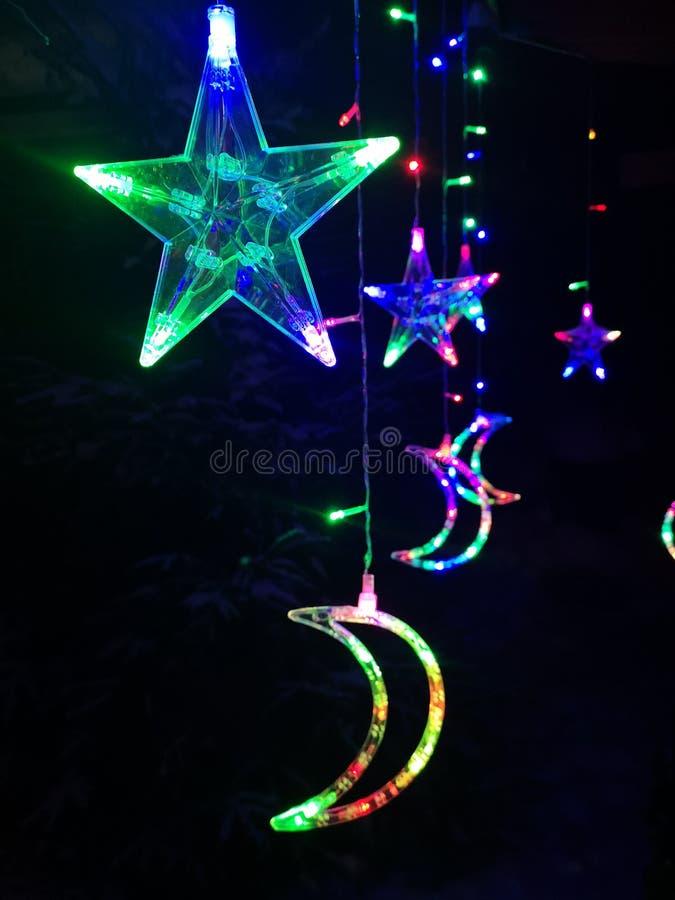 Elektrische Kerstmis royalty-vrije stock foto