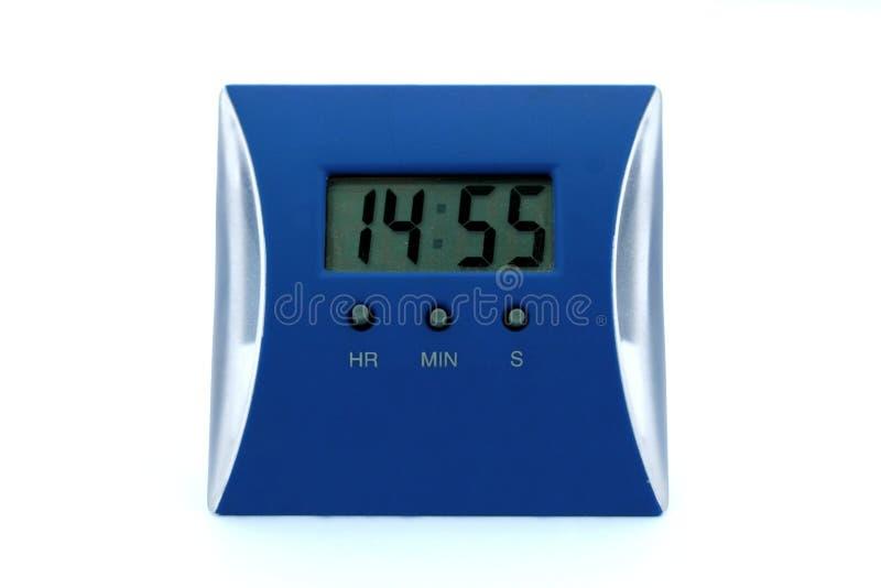 Elektrische klok stock foto