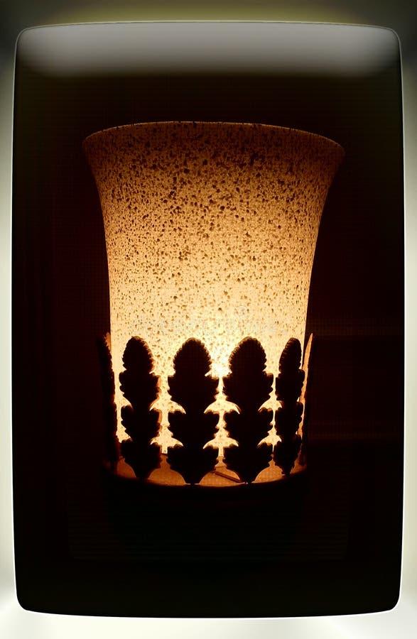 Elektrische Lampen Aladdin lizenzfreie abbildung